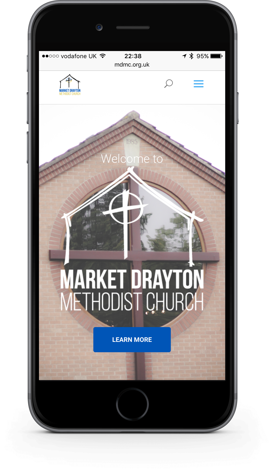 church mobile web